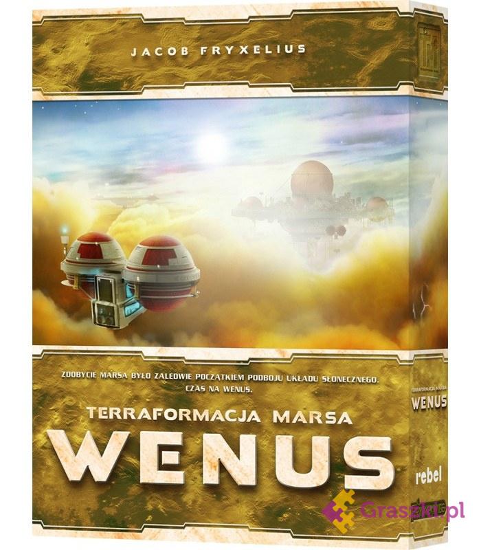Terraformacja Marsa: Wenus | Rebel // darmowa dostawa od 249.99 zł // wysyłka do 24 godzin! // odbiór osobisty w Opolu